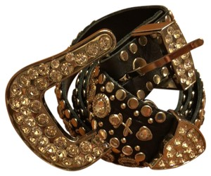 Kippys Kippys leather & Swarovski crystal belt