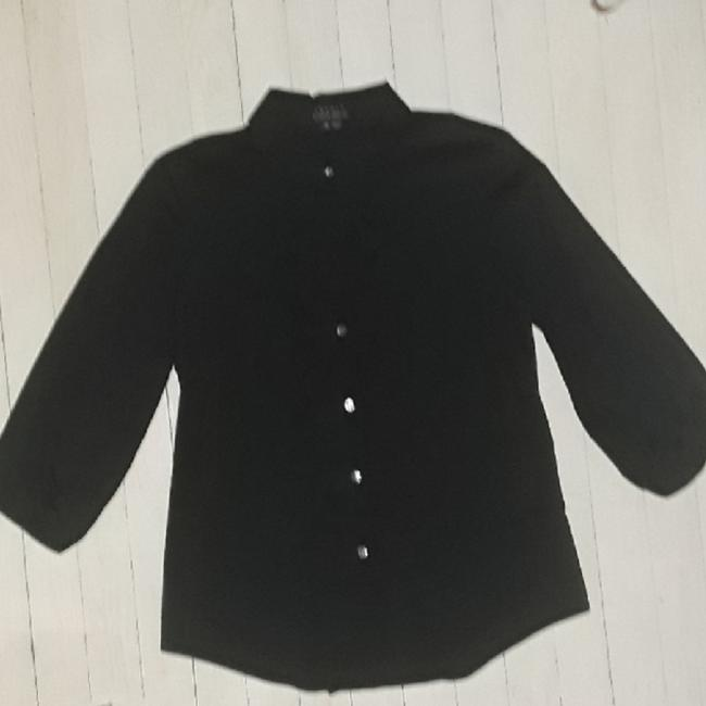 Preload https://img-static.tradesy.com/item/23939769/theory-with-34-elastic-sleeve-ruffled-bodice-black-medium-nwot-button-down-top-size-8-m-0-2-650-650.jpg