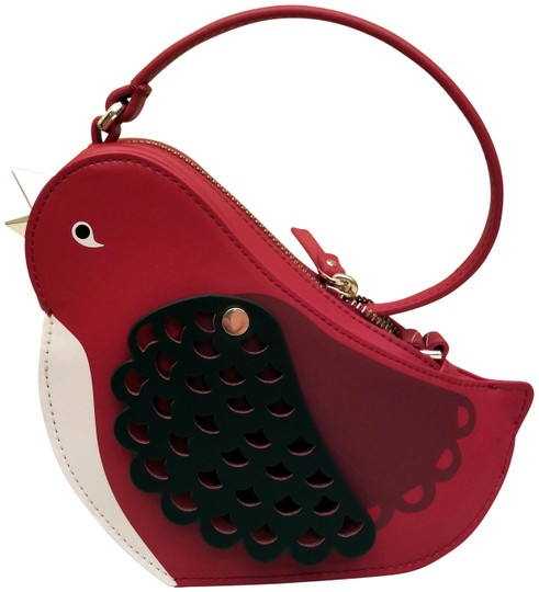 Preload https://img-static.tradesy.com/item/23939811/kate-spade-ooh-la-la-bird-red-leather-cross-body-bag-0-2-540-540.jpg