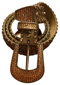 Kippys Kippys leather Swarovski crystal belt