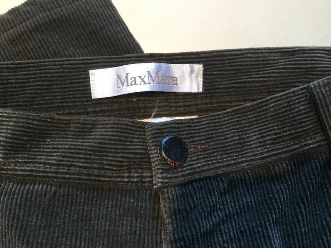 Max Mara Straight Pants Olive green Image 3