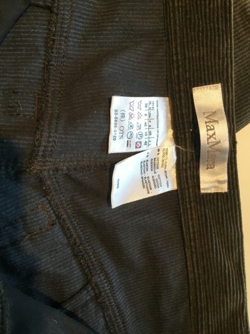 Max Mara Straight Pants Olive green Image 4