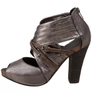 Apepazza Pewter silver Sandals