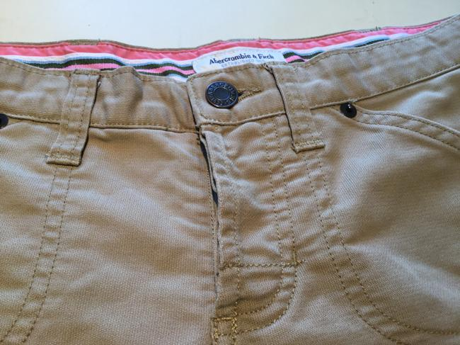Abercrombie & Fitch Mini/Short Shorts Beige Image 1