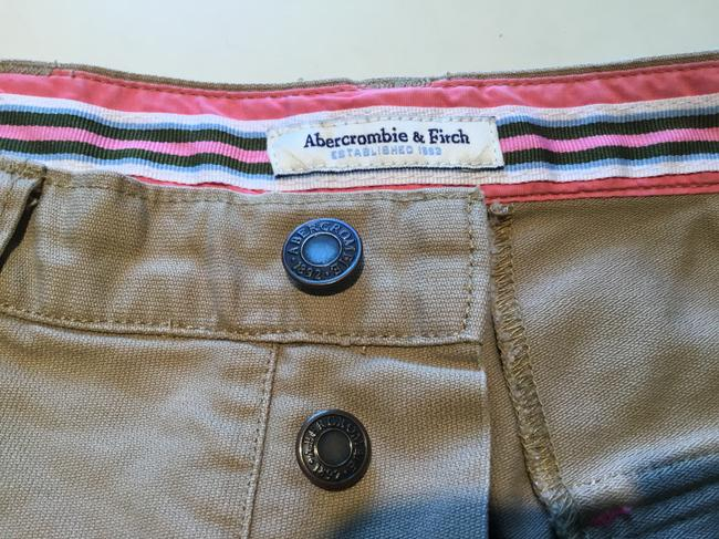 Abercrombie & Fitch Mini/Short Shorts Beige Image 3