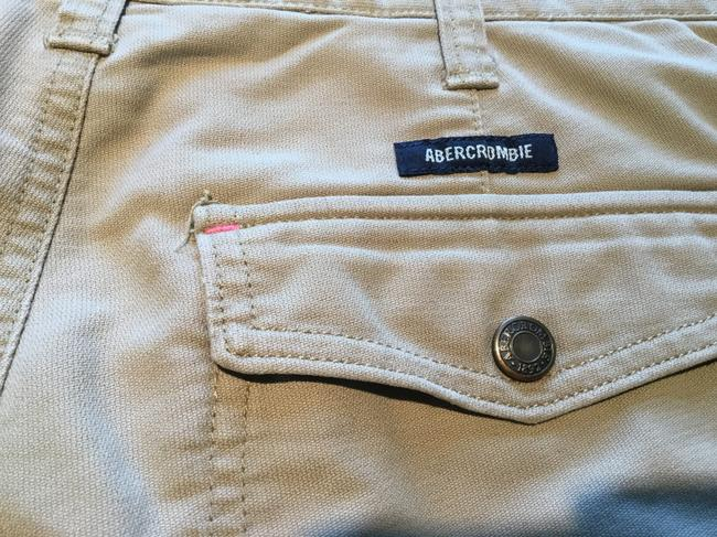 Abercrombie & Fitch Mini/Short Shorts Beige Image 5