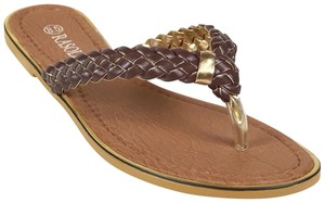 Rasolli Brown Sandals