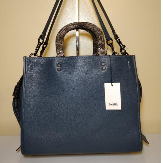 Coach 1941 Tote in Dark Denim Image 1