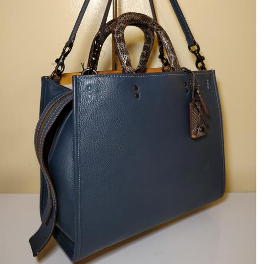 Coach 1941 Tote in Dark Denim Image 2