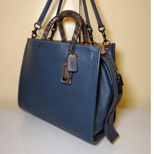 Coach 1941 Tote in Dark Denim Image 5