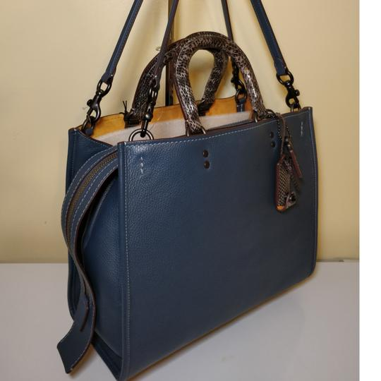 Coach 1941 Tote in Dark Denim Image 6