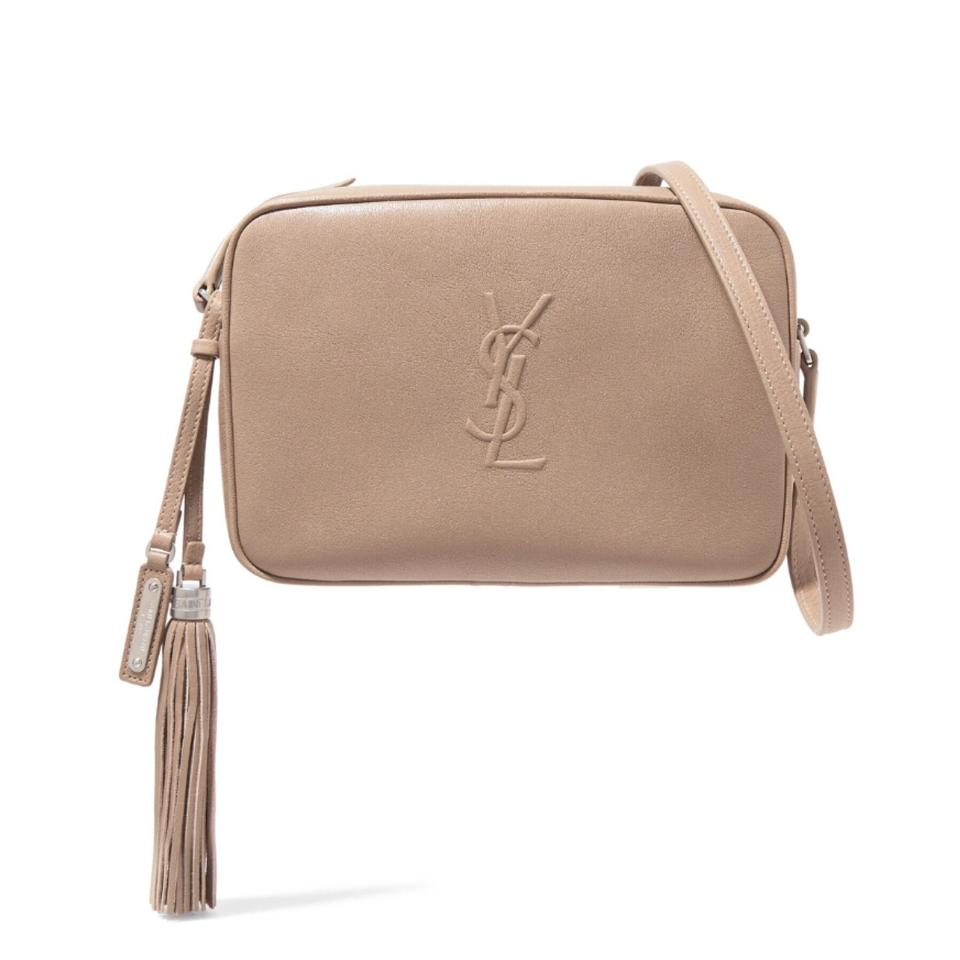 0f038ac5ab49 Saint Laurent Monogram Lou Camera Leather Cross Body Bag - Tradesy