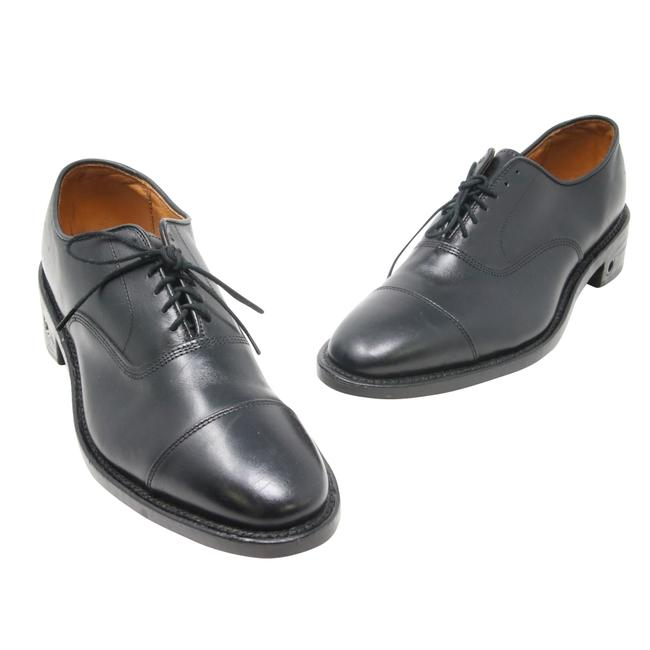 Item - Black Park Avenue Custom-made Leather Oxford Size 6.5 D Shoes