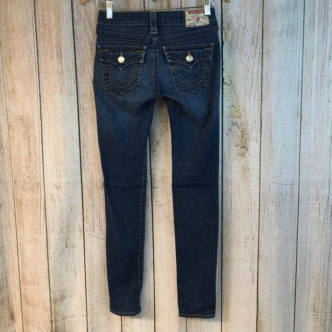 True Religion Skinny Jeans-Medium Wash Image 3