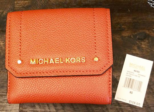 Michael Kors Tote in Orange Image 9