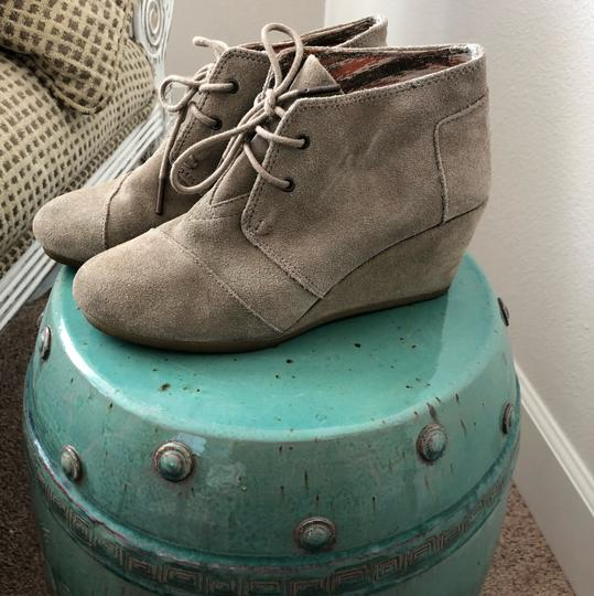 TOMS Taupe Boots Image 1