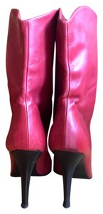 Rodolphe Menudier Red Boots