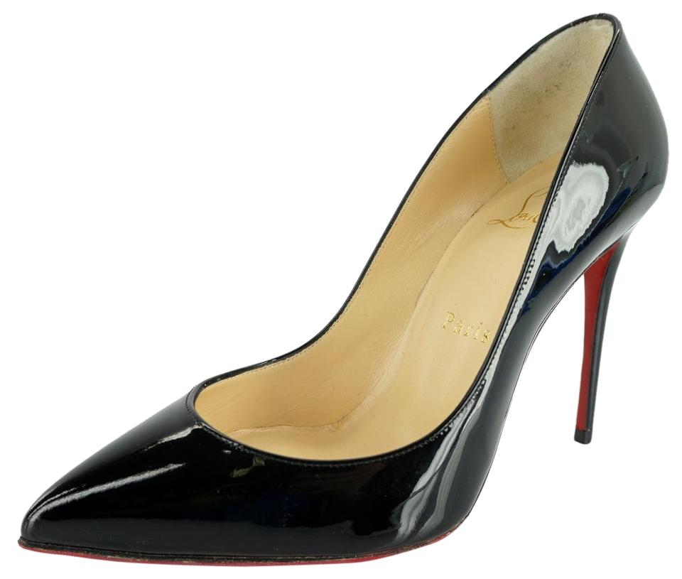 first rate 8385d f6f42 Christian Louboutin Black Patent Pigalle Follies Pointed Toe Classic Pumps  Size EU 35.5 (Approx. US 5.5) Regular (M, B) 33% off retail