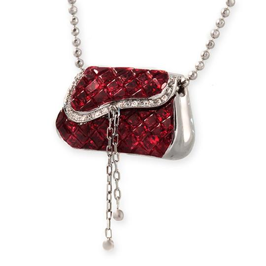 Preload https://img-static.tradesy.com/item/23940562/18k-gold-011-ct-diamonds-606-ct-invisible-set-ruby-purse-necklace-0-1-540-540.jpg