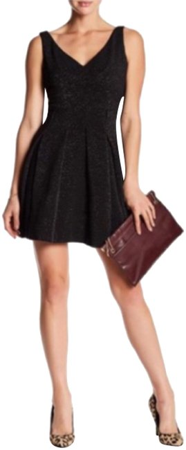 Preload https://img-static.tradesy.com/item/23940694/betsey-johnson-black-box-pleated-fit-and-flare-short-cocktail-dress-size-6-s-0-8-650-650.jpg