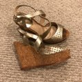 Vince Camuto gold Wedges Image 1