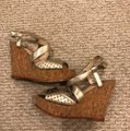 Vince Camuto gold Wedges Image 2