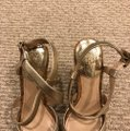 Vince Camuto gold Wedges Image 3