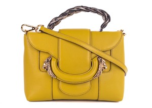 Roberto Cavalli Tote in Yellow