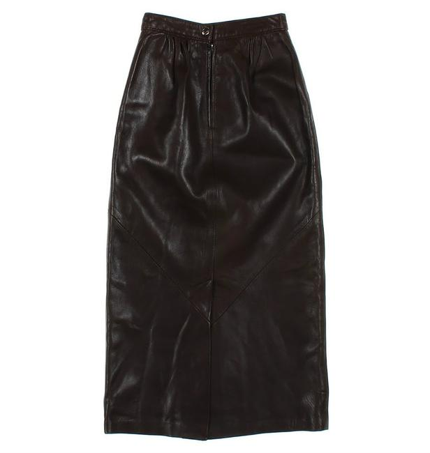 Bovines Adventure Wear Classic Leather Skirt brown Image 2