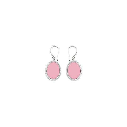 Preload https://img-static.tradesy.com/item/23941118/pink-sterling-silver-chalcedony-and-cubic-zirconia-3016-ct-t-earrings-0-0-540-540.jpg