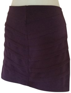 Basic House Mini Skirt Purple