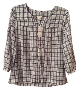 J.Crew Shirt Top Printed