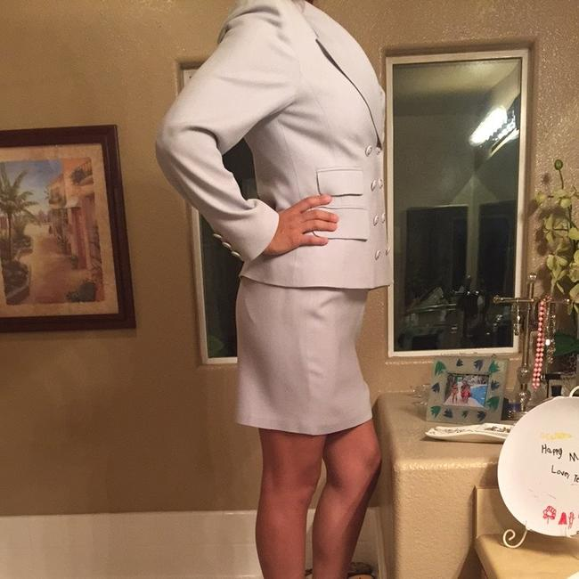 Rina Rossi Tina Rossi Baby Blue Skirt Suit. Image 1