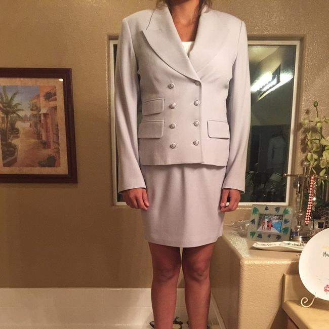 Rina Rossi Tina Rossi Baby Blue Skirt Suit. Image 2