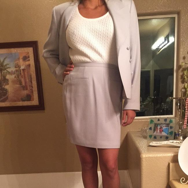 Rina Rossi Tina Rossi Baby Blue Skirt Suit. Image 4