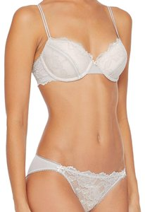 HK by Heidi Klum Ashes of Roses Corded Lace Contour Bra 36B
