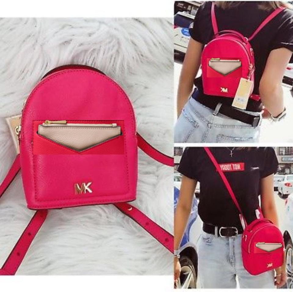 7e6ad0771a8a06 Michael Kors Extra Small Small Petite Backpack Image 10. 1234567891011