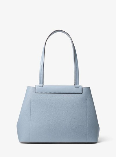 Michael Kors Leather Pale Tote in Blue Image 1