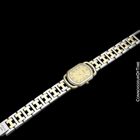 Hermès Hermes Rallye Ladies Bracelet Watch - 18K Gold Plated and Stainless St Image 7
