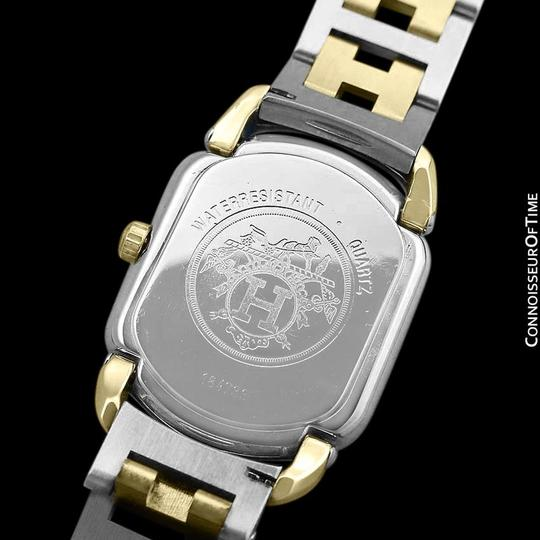Hermès Hermes Rallye Ladies Bracelet Watch - 18K Gold Plated and Stainless St Image 9