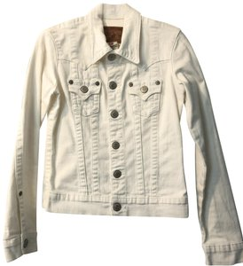 0ba98a48f88e This Item is No Longer Available. True Religion Spring Classic Casual  Summer White Womens Jean Jacket ...