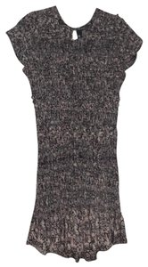 Isabel Marant short dress Black with multi color pink blue and neutrals on Tradesy