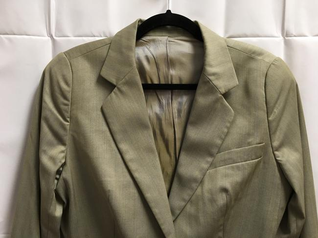Escada Jacket Long Sleeved Lined Made In Italy Two Buttons Tan Blazer Image 1
