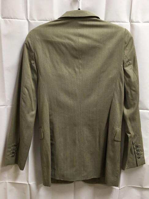Escada Jacket Long Sleeved Lined Made In Italy Two Buttons Tan Blazer Image 6