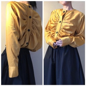 ME-Boutiques Private Label Collection Top mustard yellow