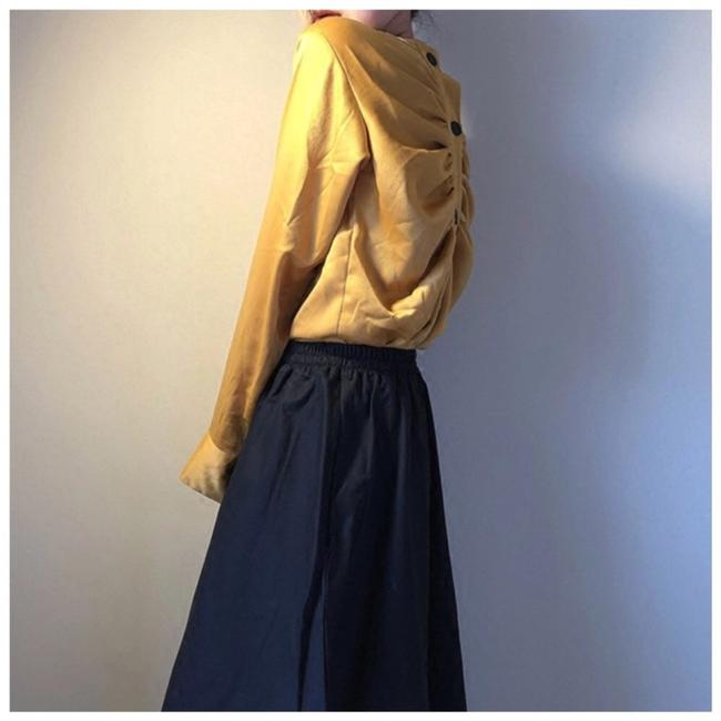 ME-Boutiques Private Label Collection Top mustard yellow Image 4