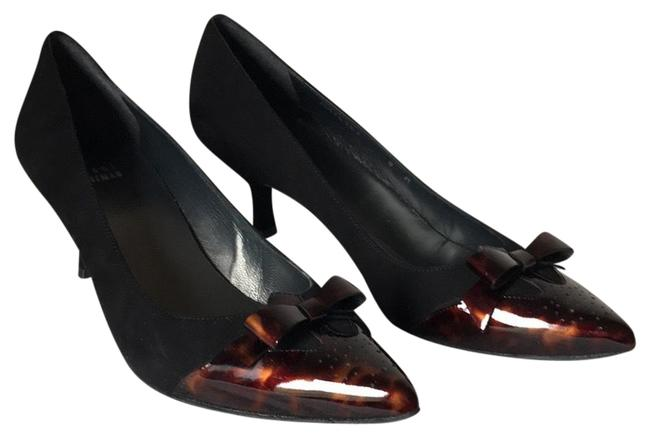 Item - Black Suede with Tortoise Brown Patent Leather Toe. Daydream Pumps Size US 8 Regular (M, B)