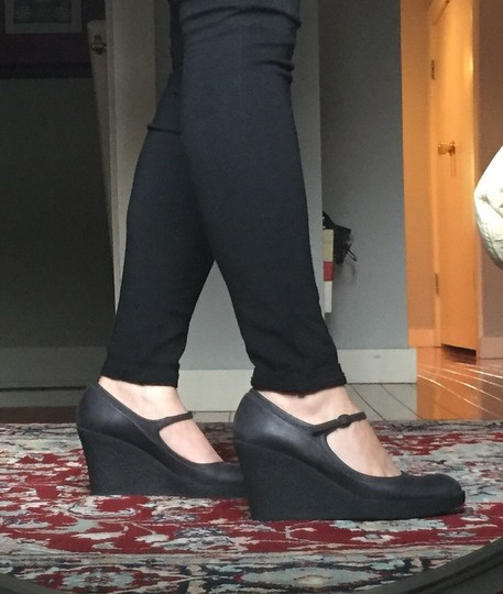 Browns Charcoal/black Wedges
