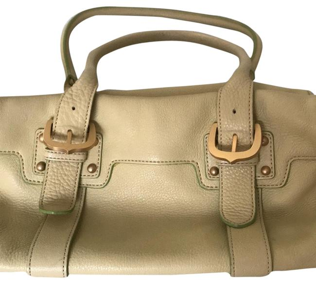 Item - Top Handle Cute Light Green Almost Yellow Leather Shoulder Bag