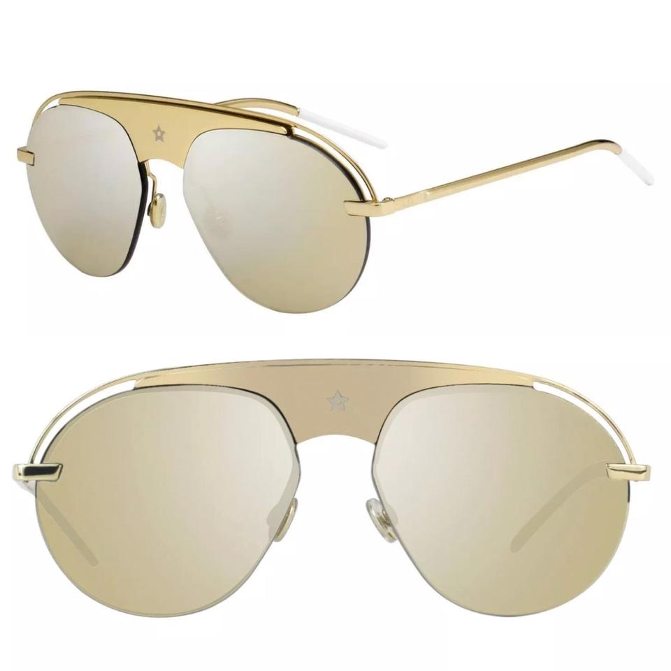 3a47c80afb7 Dior Gold Dio(R)evolution2 J5g Qv Sunglasses - Tradesy
